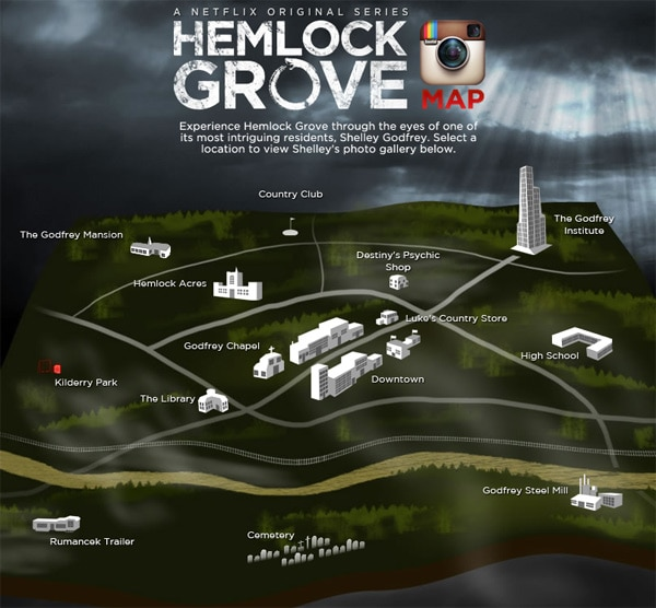 Explore Hemlock Grove with this Interactive Map