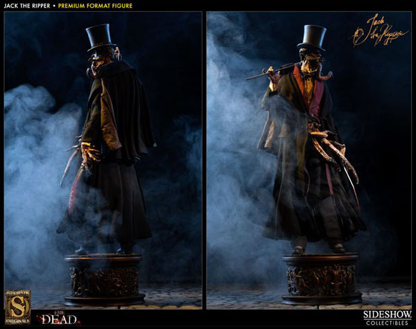 Sideshow Adds a Jack the Ripper Premium Format Figure to The Dead Collection