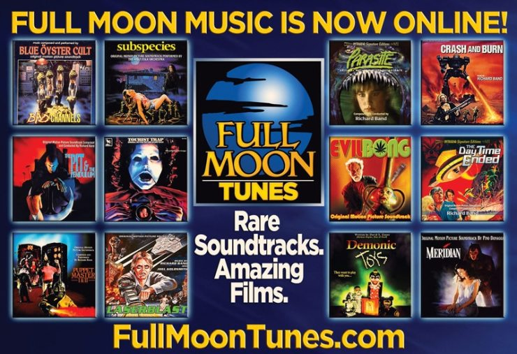 fullmoontunes - Horror Music Lovers Rejoice - Full Moon Tunes has Launched