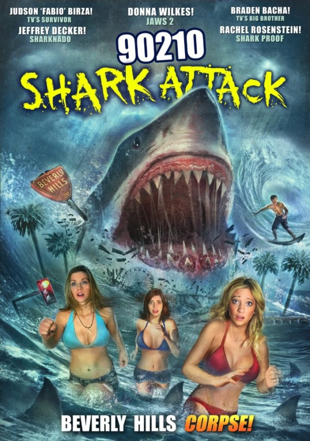 90210 Shark Attack 722x1024 - 90210 Shark Attack Takes a Bite Out of Home Video