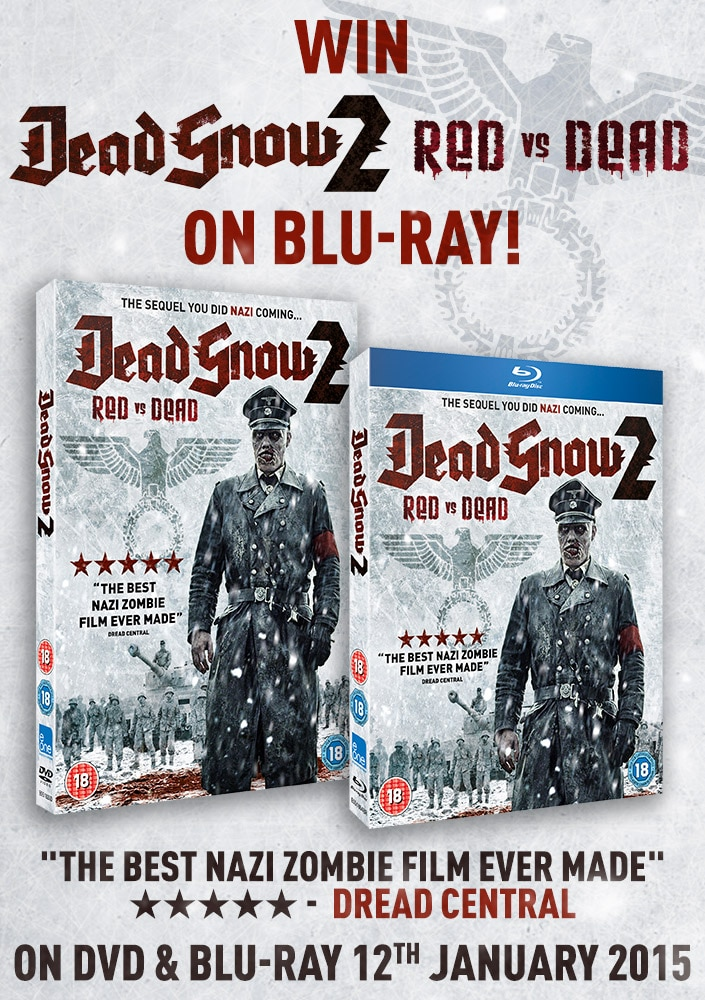 Dead Snow 2 Competition Image - UK Readers: Win Dead Snow 2: Red vs. Dead on Blu-ray!