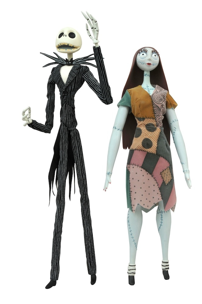 JackandSallyCoffinDolls - Toy Fair 2015: Diamond Select Unveils New Aliens, Predator, and Nightmare Before Christmas Items