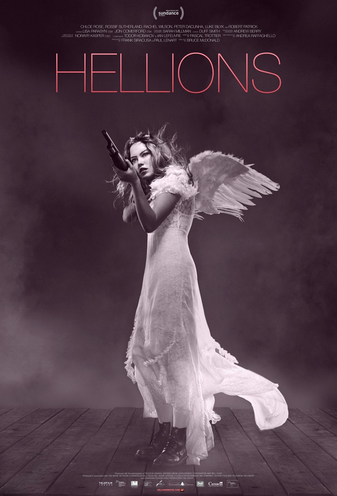 hellions poster - Hellions Picked Up by IFC Midnight