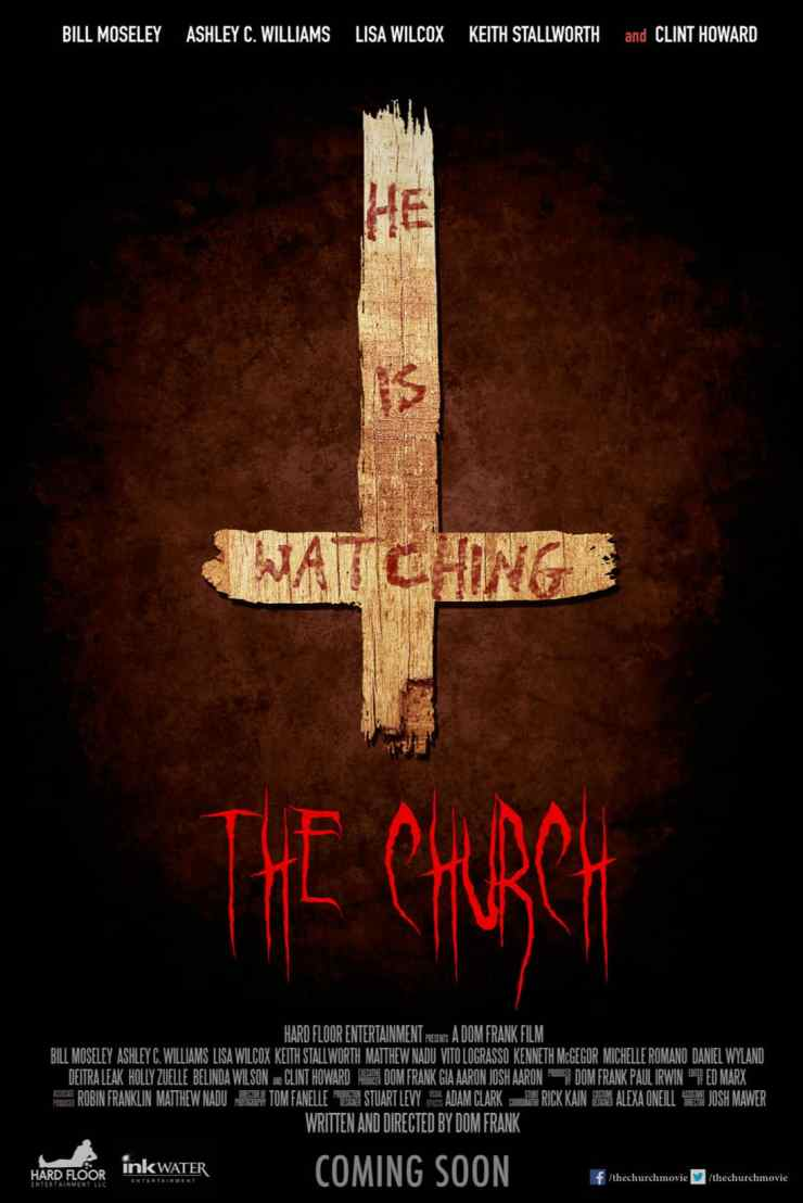 The Church Poster 2015 - Worship Horror at The Church with Bill Moseley