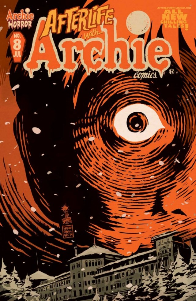 AfterlifeWithArchie8Cvr 666x1024 - Archie Comics Launching Horror Imprint; Teases Third Series to Join Afterlife and Sabrina