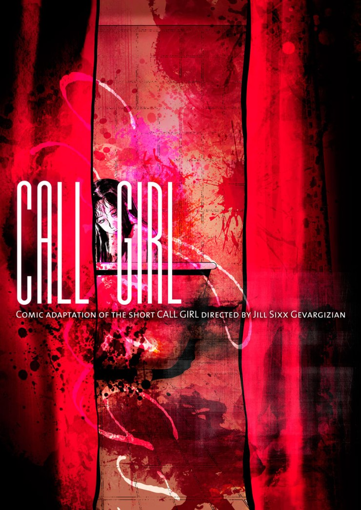 call girl 3 - Short Film Call Girl Reimagined in Comic Book Form, Read it For Free!