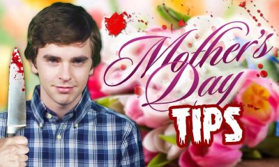 Freddy Highmore Mothers Day F - Bates Motel's Freddie Highmore Offers Up Some Mother's Day Tips