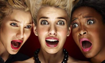 screamqueensposters - #SDCC15: American Horror Story: Hotel Characters Revealed; Scream Queens to Include Halloween Homage