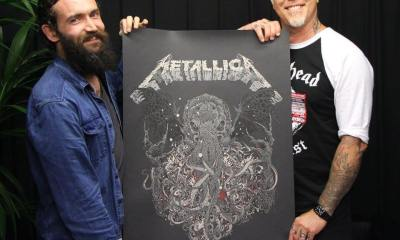 Metallica Ctulhu 1 - Metallica Unveils Awesome New Cthulhu Artwork