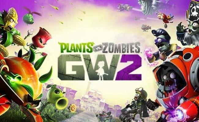 Plants Vs Zombies Gw2 Backyard Battleground Trailer