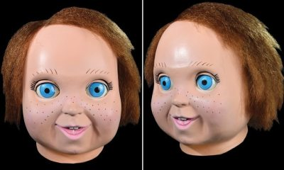 chucky22 - 10 Awesome Horror Movie Masks Coming This Halloween Season