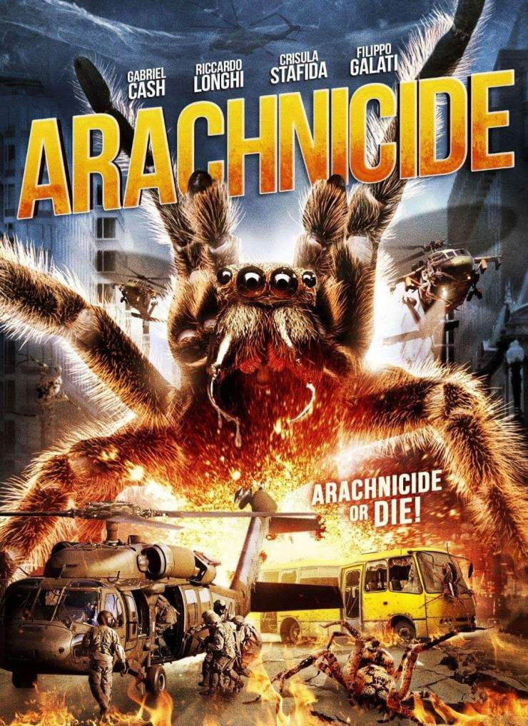arachnide 1 - Giant Spiders Run Amok in Arachnicide Trailer