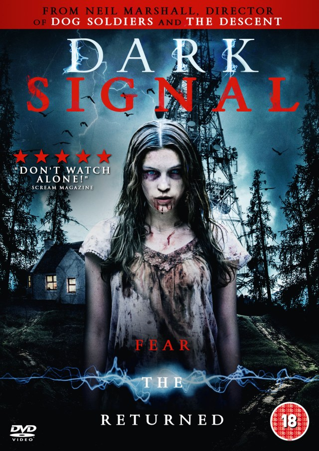 Dark Signal UK DVD Sleeve