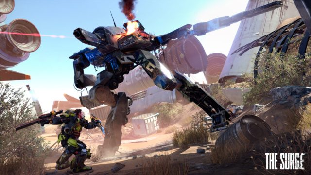 thesurge 04 1024x576 - E3 2016: The Surge Brings Exo-Suits, Giant Mechs, and Action... Oh My!