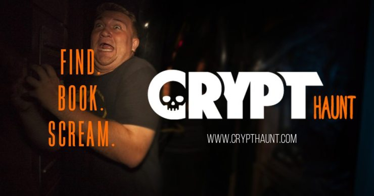 CryptHaunt 1200X630 - Crypt TV Partnering with HauntPay for a New Halloween Haunted House Locator