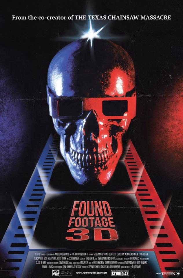 Found Footage 3D - Shudder to Give Us Found Footage in 2D and 3D