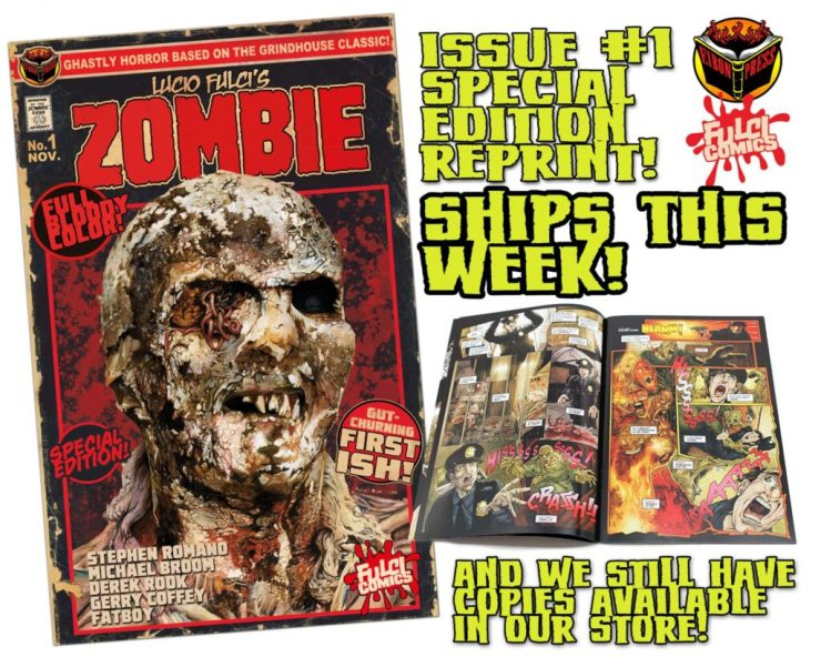 ZOMBIE 1 SPEC ED SHIP THIS WEEK min 1024x819 - Lucio Fulci's ZOMBIE #1 Special Edition Comic Ships this Week and MORE!