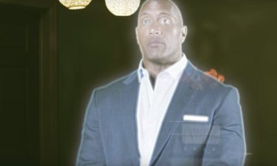 """therock ghost - Halloween Treat: Check In to #Room301 with Dwayne """"The Rock"""" Johnson"""