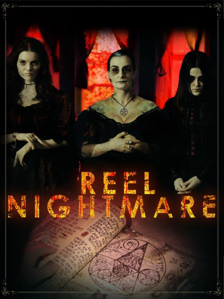 Reel Nightmare Theatrical Poster - Experience a Reel Nightmare Next Week
