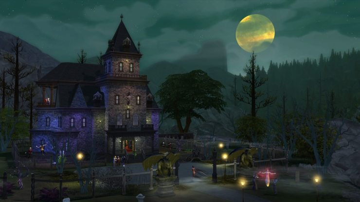 the sims 4 vampires2 1 - Live Forever with The Sims 4 Vampires Expansion