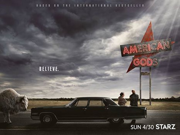 american gods premiereartwork - Celebrate Easter a Day Late with this New American Gods Video
