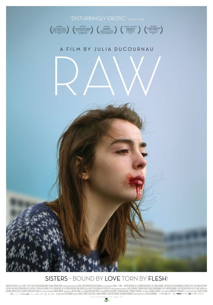 rawtheatricalposter - Exclusive Interview with Director Julia Ducournau on Raw