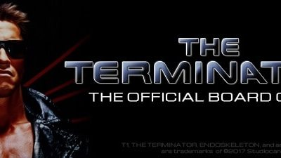 the terminator board game cover 1 - The Terminator: The Official Board Game Kills it on Kickstarter