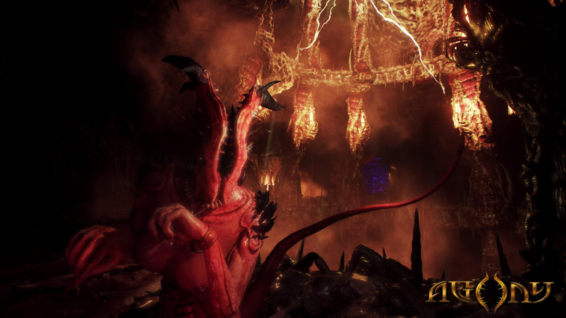 Mystical Creatures In The Fall Wallpaper New Agony Trailers Deliver The Pain Dread Central