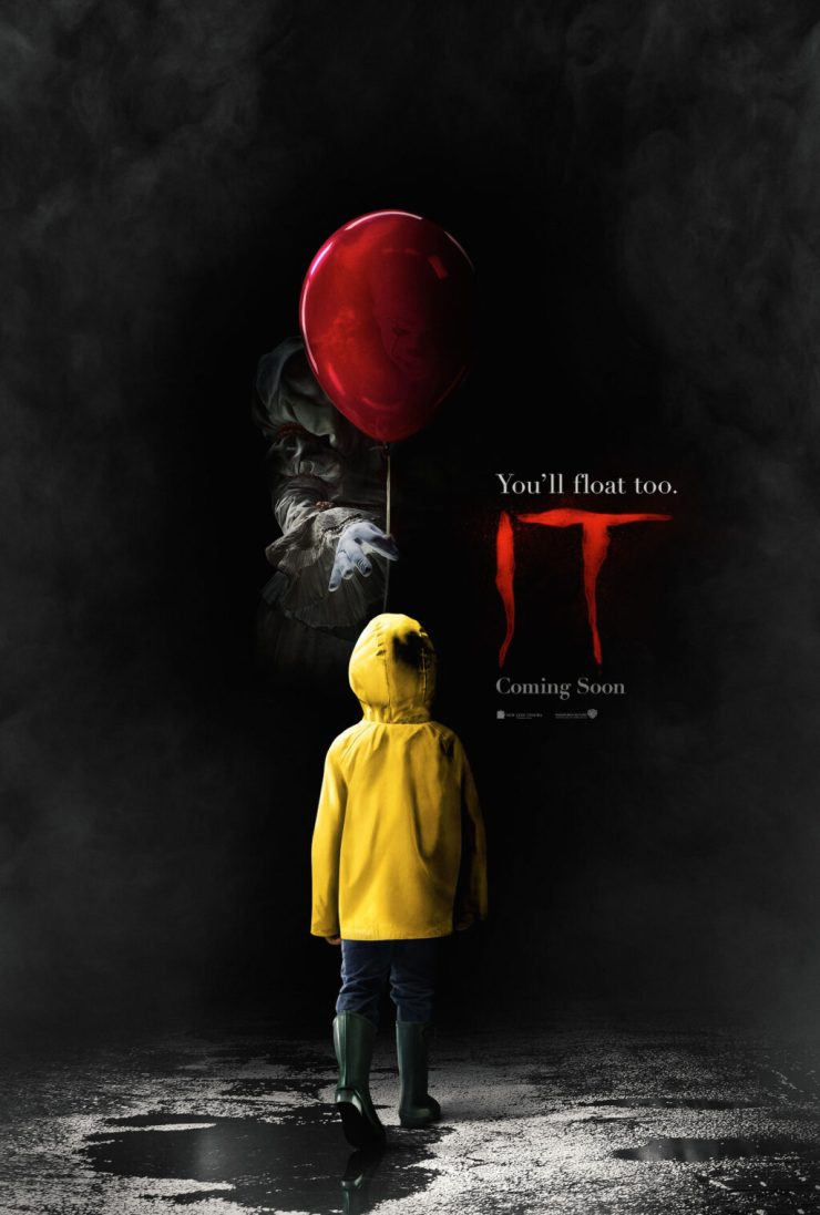 itofficialposter 1024x1518 - Stephen King's IT - New Look at Pennywise and MORE!