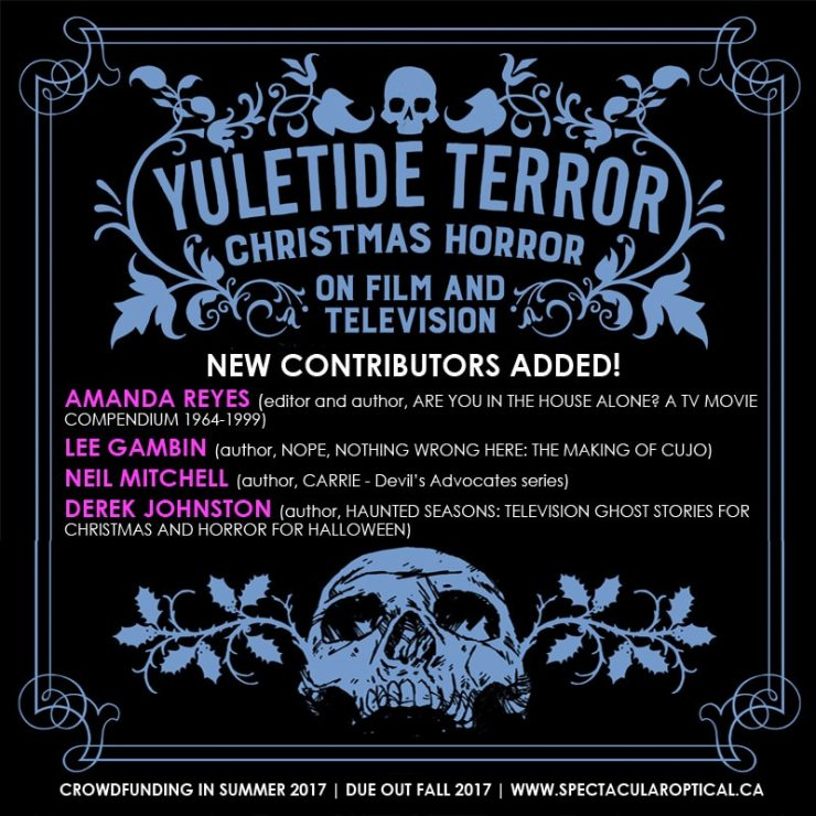 YT new contributors - New Contributors Revealed for Holiday-Themed Book Yuletide Terror