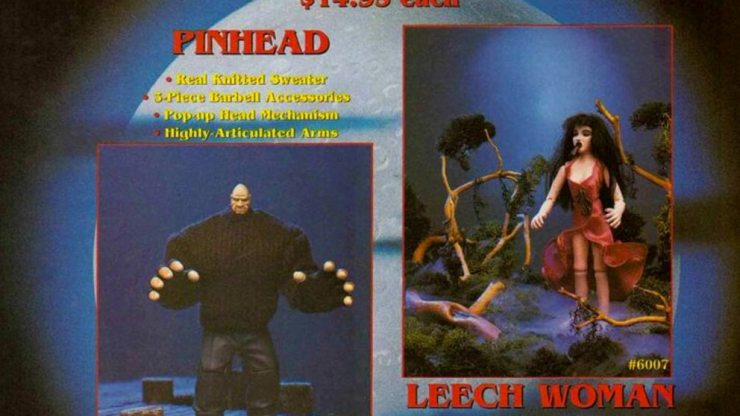 pm figures pinhead leech woman - No Strings Attached: Remembering the Puppet Master Action Figure Series