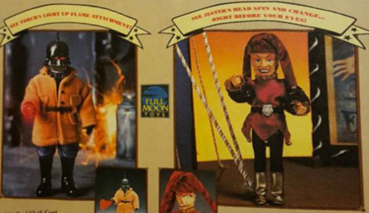 pm figures torch jester - No Strings Attached: Remembering the Puppet Master Action Figure Series