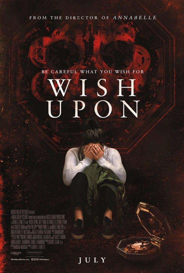 WishUpon FinalPoster 1024x1517 - Wish Upon - Michael Galbraith Exclusive Interview