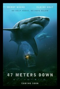 47 Meters Down 2017 203x300 - Josh Millican's Best Horror Films of 2017
