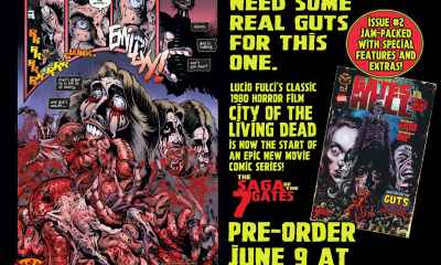 GATES 2 COMIC PAGE AD 1 min 1 - Lucio Fulci's GATES OF HELL Comic Book ISSUE #2 Coming Out TODAY!