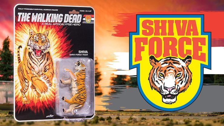 TWD Shiva Force Shiva Character Promos - #SDCC17: The Walking Dead Explodes with Shiva Force Toy Set