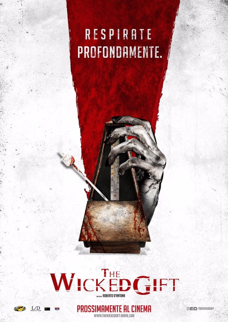 TheWickedGift TeaserPoster b - Here Are Two Posters For The Italian Horror Film The Wicked Gift