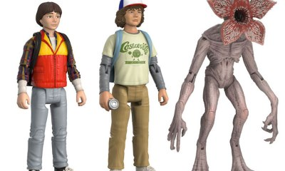 funko strangerthings 3 pack2s - Horror Collectibles Alert: New Stranger Things and War for the Planet of the Apes Figures, Pennywise Motion Statue, and Horror Icon Madballs