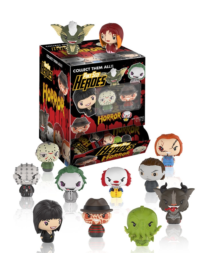 funkopintsizeheroeshorror - Funko Announces Elvira Figurine as Well as Pint Size Horror Heroes!