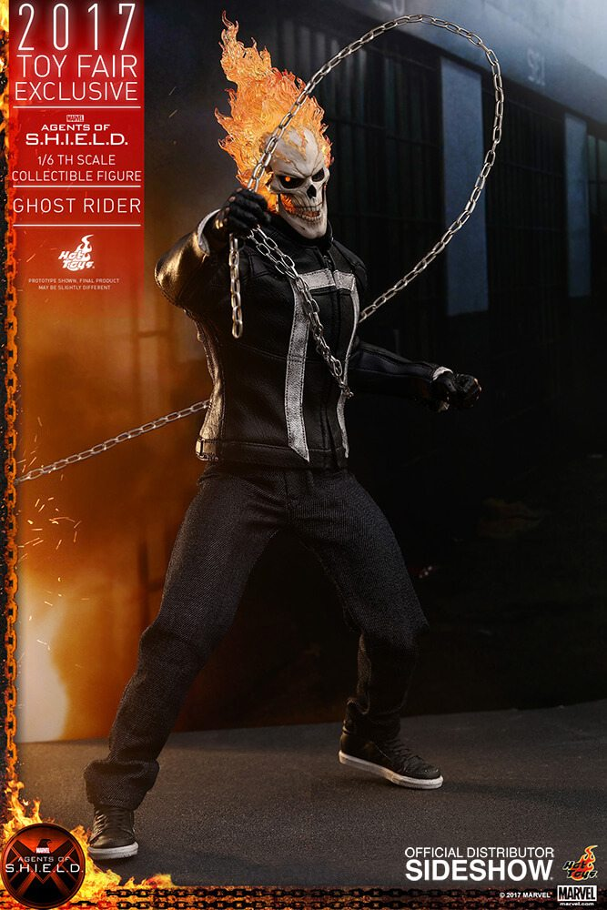 Ghost Rider agents of s.h.i.e.l.d. hot toys figure12 1 - Hot Toys Fires Up Its Ghost Rider Action Figure