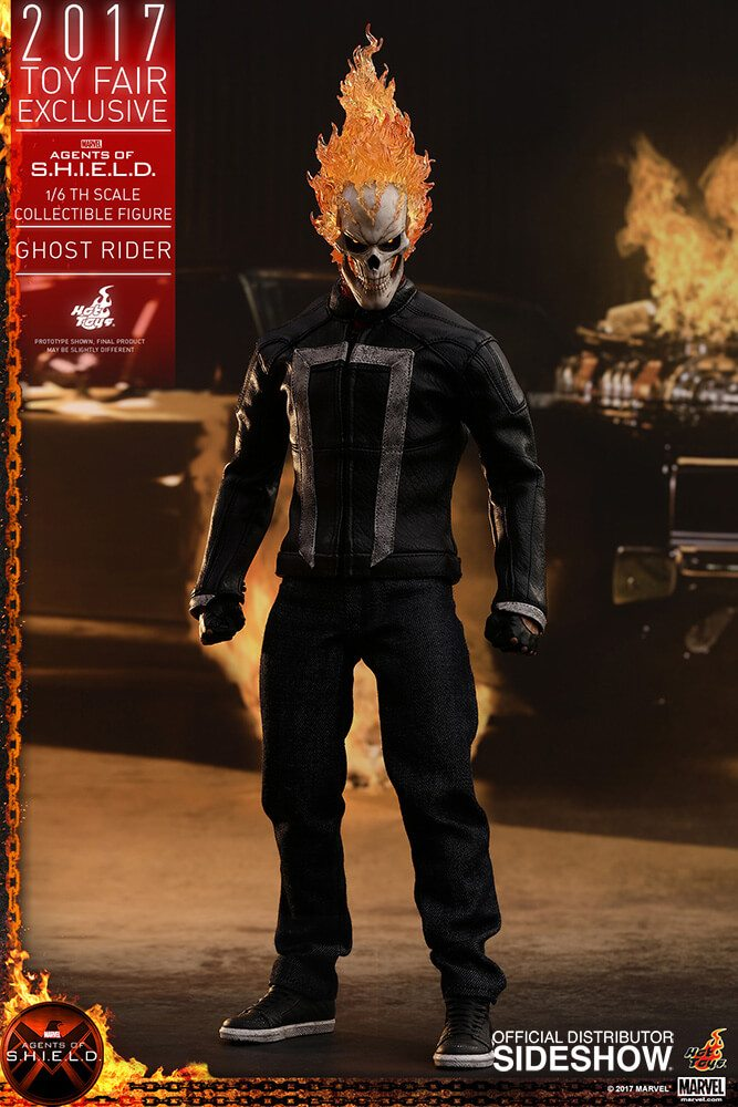 Ghost Rider agents of s.h.i.e.l.d. hot toys figure7 1 - Hot Toys Fires Up Its Ghost Rider Action Figure
