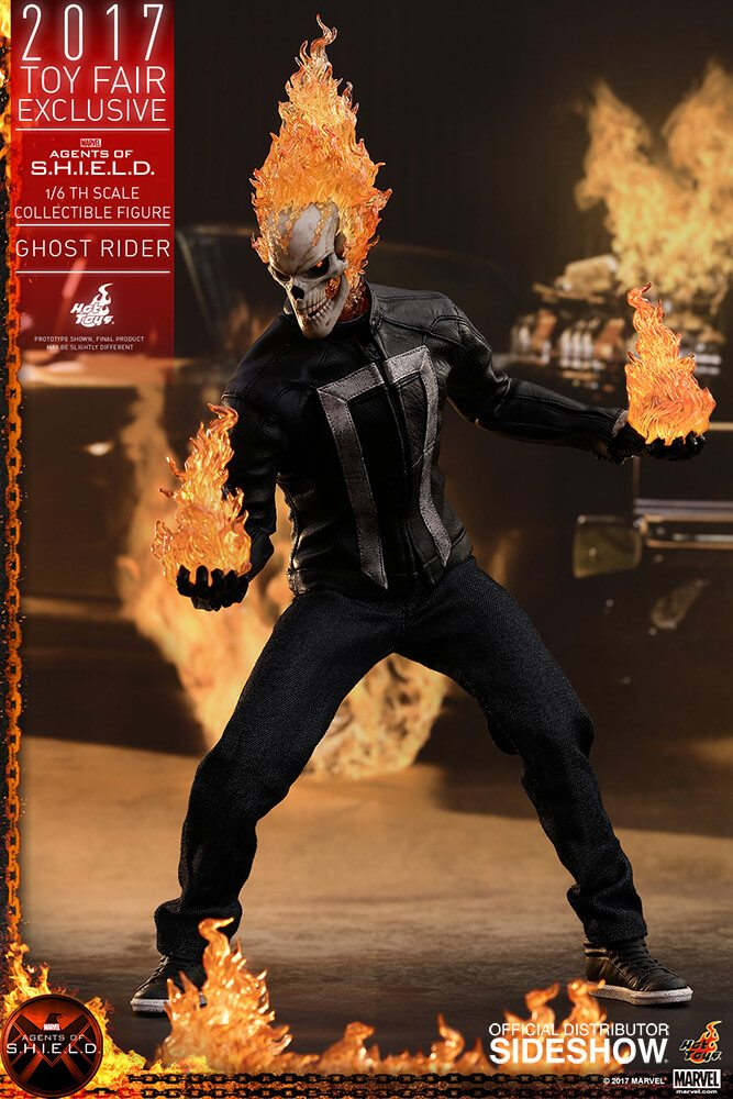 Ghost Rider agents of s.h.i.e.l.d. hot toys figure9 1 - Hot Toys Fires Up Its Ghost Rider Action Figure