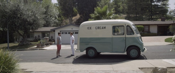 Ice Cream Truck 4 - The Ice Cream Truck Pulls Up and Hands Out Images