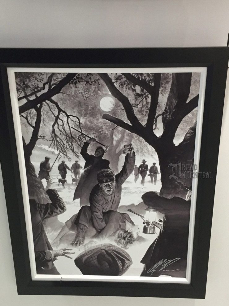 alex ross 3 - #SDCC17: Alex Ross' Universal Monsters Artwork Steals the Show