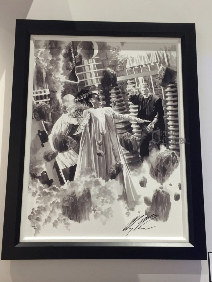 alex ross 7 - #SDCC17: Alex Ross' Universal Monsters Artwork Steals the Show