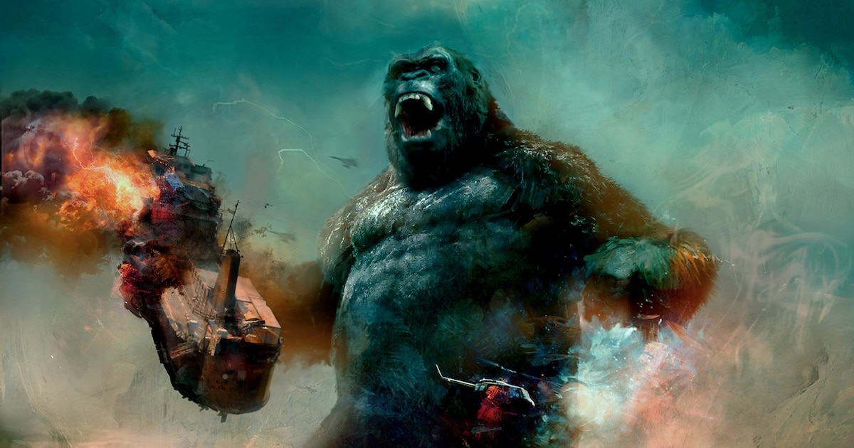 King Kong Looks Absolutely Glorious in Christopher Shys