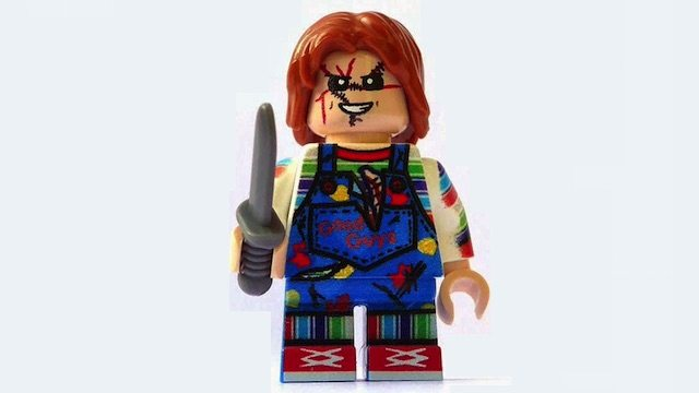 chuckylegobanner - Cult of Chucky Trailer Goes LEGO