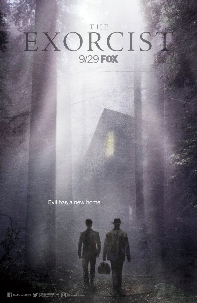 exorcist s2 miniposter 2017 - The Exorcist Stars Give Us the First Look at Season 2