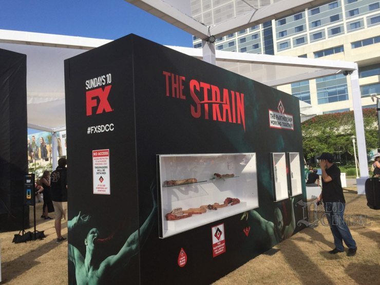 strain cc 1 - #SDCC17 Video: Go Inside the American Horror Story: Cult Zoetrope; FX Treats Us to The Strain for One Last Time