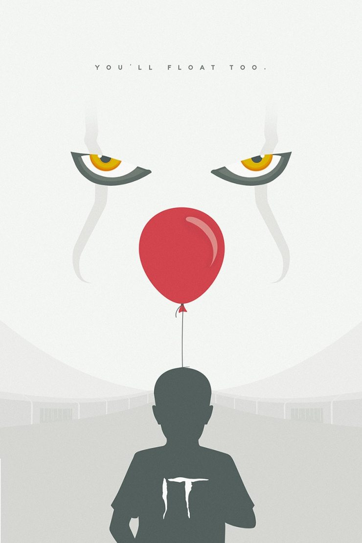 1sgpostersstephenkingIt - Escape From IT's Pennywise in New VR Experience